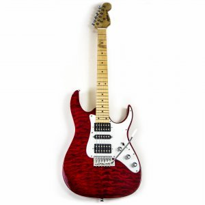 Axxion Deluxe HSH Strat Red