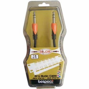 Bespeco Cable 1m Straight Stereo