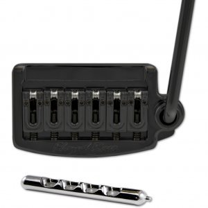 Floyd Rose Tremolo Rail Tail Narrow Black