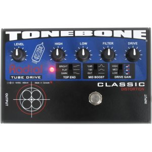 Radial Tonebone Classic - Real Tube Distortion Pedal