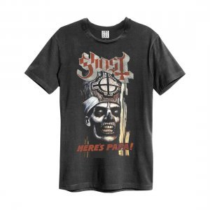 Amplified T-Shirt Ghost - Here's Papa (ZAV210B56)
