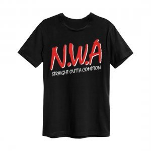 Amplified T-Shirt N.W.A - Logo (ZAV273C84)