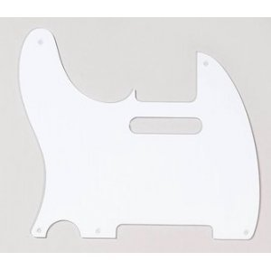 Tele 1-Ply 52' White Left