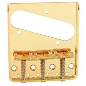 Bridge Telecaster Vintage 3-Saddle Gold