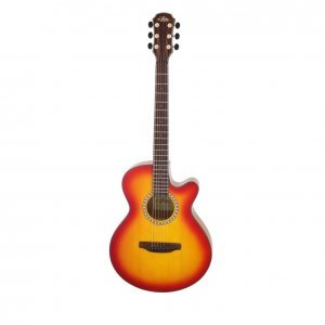 Aria TG-1 Cherry Sunburst Ακουστική κιθάρα
