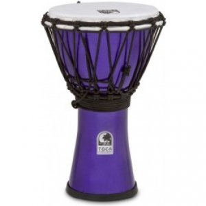 Toca Djembe Freestyle Colorsound Violet Metallic