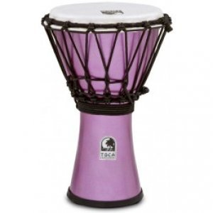 Toca Djembe Freestyle Colorsound Indigo Metallic