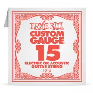 Ernie Ball Plain Steel Spare 015 (1015)