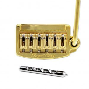 Floyd Rose Tremolo Rail Tail Narrow Gold