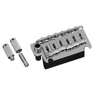 Gotoh Tremolo 2-Point Steel Saddle & FST Block Chrome 54mm