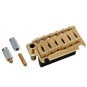 Gotoh Tremolo 2-Point Steel Saddle & FST Block Gold 54mm