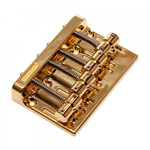 Gotoh Bass Bridge 4-String Gold