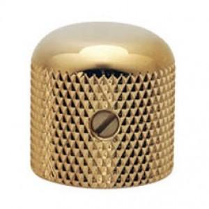 Gotoh Dome Knob Metal Gold 18x18
