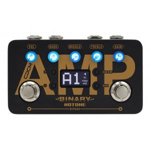 Hotone Binary Amp - CDCM Amplifier Simulator Effects Pedal