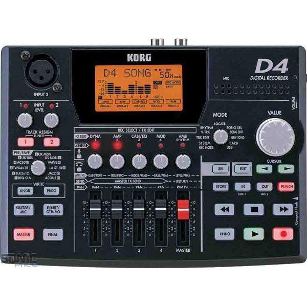 Korg 8-Track Digital Recorder D4