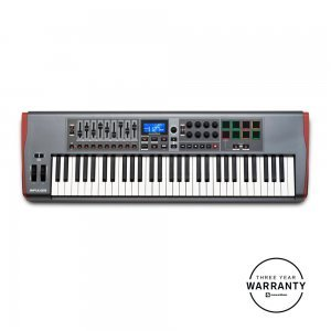 NOVATION IMPULSE 61 USB MIDI CONTROLLER 61 KEYS
