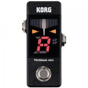 KORG PITCHBLACK MINI DIGITAL MINI PEDAL TUNER