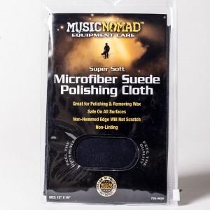 MusicNomad Microfiber Suede Polishing Cloth MN201