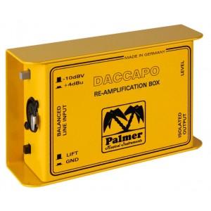 Palmer Daccapo Re-Amp Box