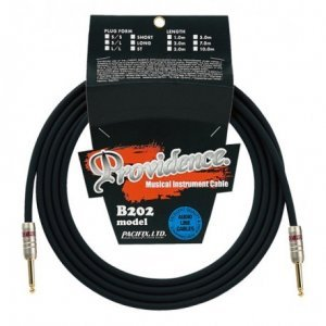 """Providence Instrument Cable B202 """"Bottomfreq'er"""" TS Straight 1m"""