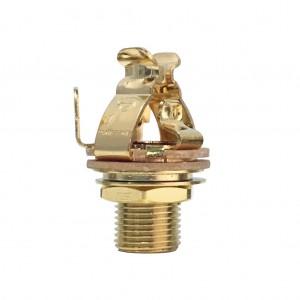 Pure Tone Input Jack Long Mono Multi Contact Gold