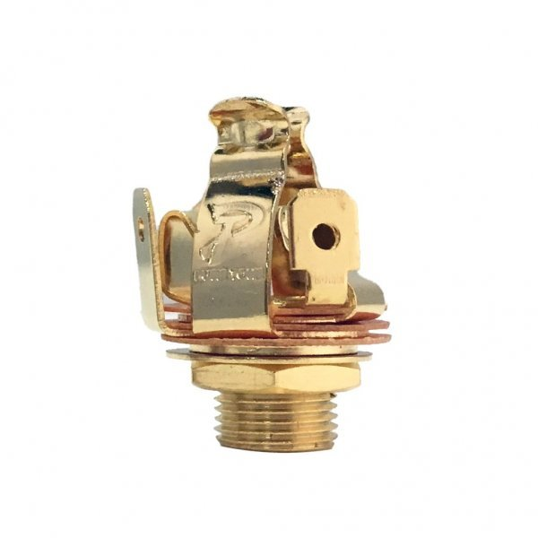 Pure Tone Input Jack Long Stereo Multi Contact Gold