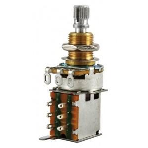 Bourns Audio Push-Push Pot Split Shaft 250K