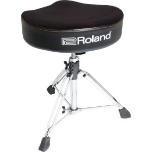 Roland Drum Throne Saddle with Hydraulic Adjustment - RDTSH
