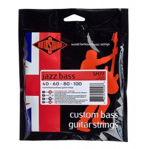 Rotosound Jazz Bass Flat 040-100 (SM77)