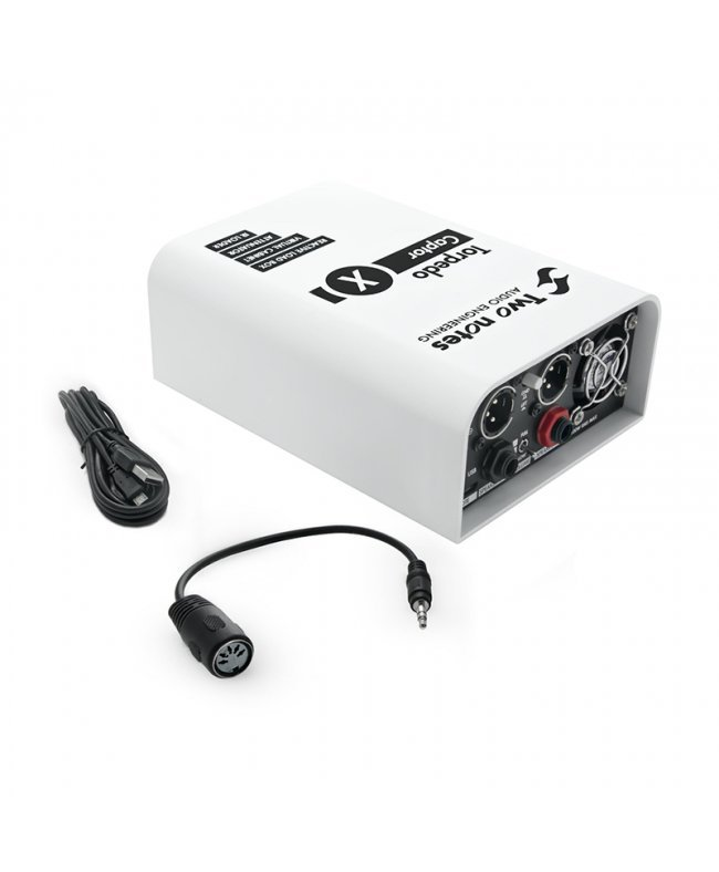 Two Notes Audio Engineering Torpedo Captor X 16 ohms - Compact Reactive Load Box, Attenuator, Cab Sim and IR Loader ΠΕΡΙΦΕΡΕΙΑΚΑ