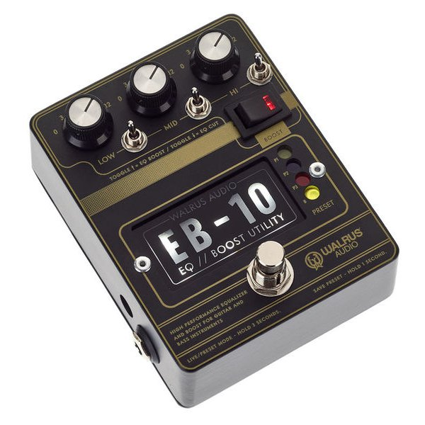Walrus Audio EB-10 - EQ / Preamp / Mosfet Boost