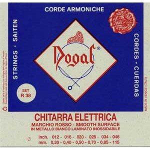Dogal R-38 012-046 Σετ 6 χορδές ηλεκτρικής κιθάρας