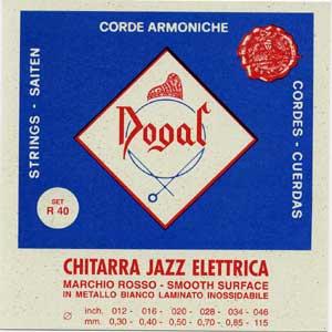 Dogal R-40A Jazz [011-046] Σετ 6 χορδές ηλεκτρικής κιθάρας