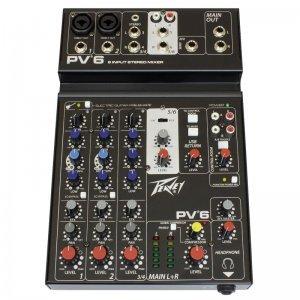 PEAVEY PV6 6-Channel Κονσόλα ήχου
