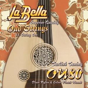La Bella OU-80, Turkish Tuning Σετ χορδές Αραβικού ούτι