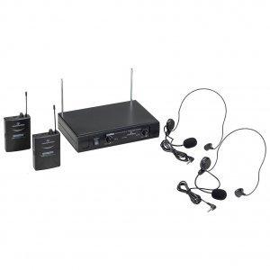 SOUNDSATION WF-V21PPA VHF Σετ 2 ασύρματων μικροφώνων
