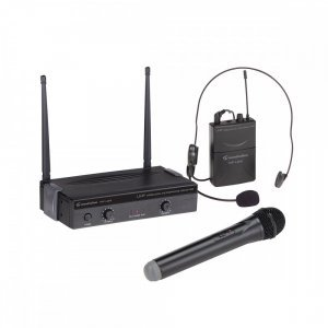 SOUNDSATION WF-U24HP Head/Hand UHF Σετ 2 ασύρματων μικροφώνων