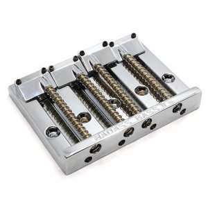 Leo Quan Badass II Bass Bridge 4-String Chrome 19mm Pitch