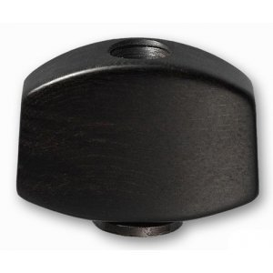 Bouton Tuner Ebony Small (Schaller)