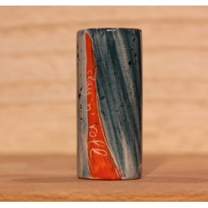 Clay 'N Roll Ceramic Slide - Red Path Of Mississippi