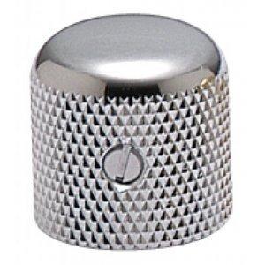 Gotoh Dome Knob Metal Nickel 19x19