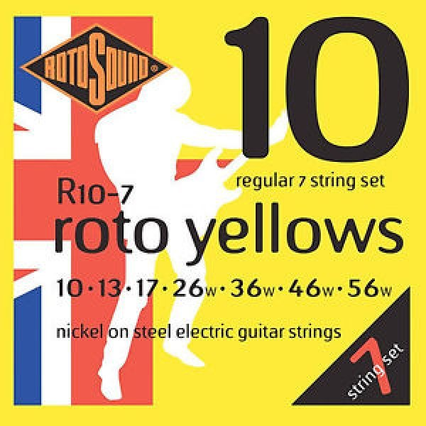 Rotosound Roto Yellows 7 String  010-56  (R10-7)